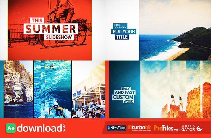 Favorite Slideshow V2 Free Download After Effects Templates