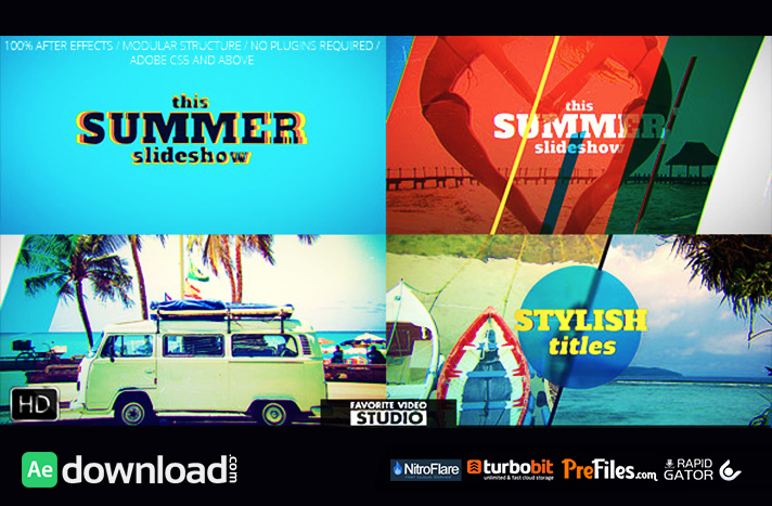 FAVORITE SUMMER SLIDESHOW (VIDEOHIVE) - FREE DOWNLOAD - Free After