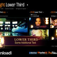 FILM LIGHT LOWER THIRD – (VIDEOHIVE TEMPLATE) – FREE DOWNLOAD