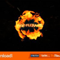 FIRE FLOWER LOGO (VIDEOHIVE) – FREE DOWNLOAD