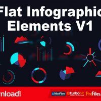 FLAT INFOGRAPHIC ELEMENTS V1 (VIDEOHIVE) – FREE DOWNLOAD