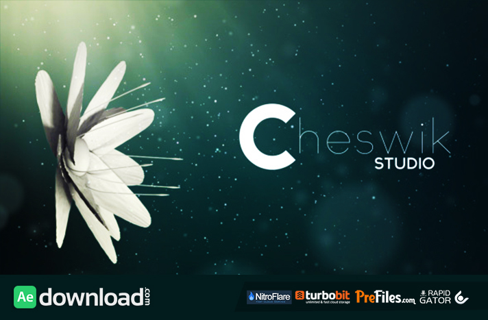 download template after effect cs4 - flower logo videohive free download free after