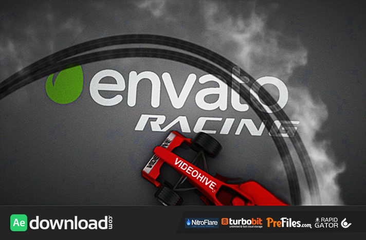 Formula One Bolid - Drift Opener Free Download After Effects Templates