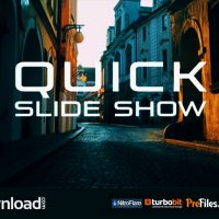 QUICK SLIDE SHOW (VIDEOHIVE PROJECT) – FREE DOWNLOAD