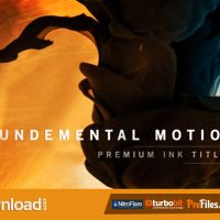 VIDEOHIVE FUNDAMENTAL MOTION INK TITLES – FREE DOWNLOAD