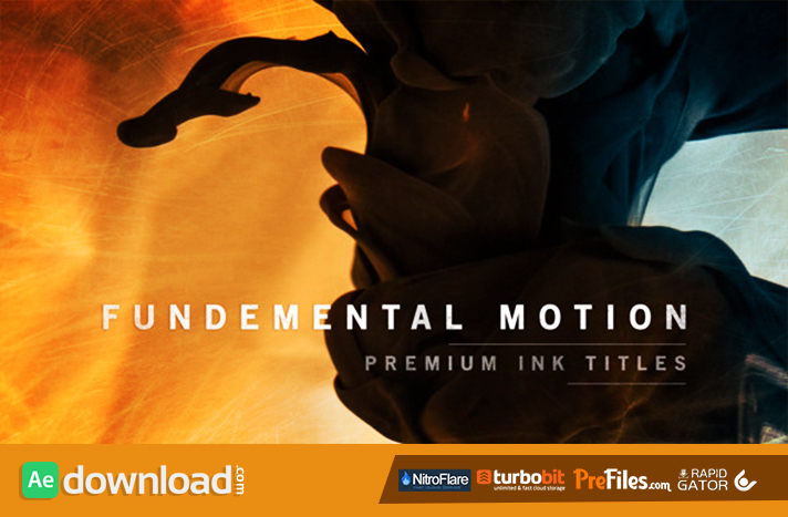 Fundamental Motion Ink Titles Free Download After Effects Templates
