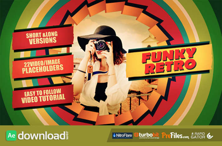 Funky Retro Free Download After Effects Templates