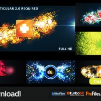 GLOWING PARTICLES LOGO REVEAL (VIDEOHIVE) – FREE DOWNLOAD