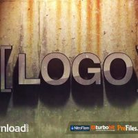 GRUNGE LOGO (MOTION ARRAY)  – FREE DOWNLOAD