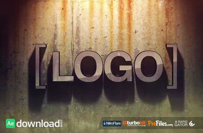 GRUNGE LOGO (MOTION ARRAY) Free Download After Effects Templates