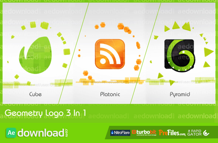 Geometry Logo free videohive template download