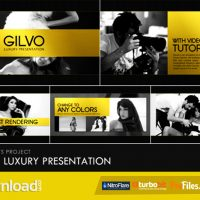 GILVO – LUXURY PRESENTATION – (VIDEOHIVE TEMPLATE) – FREE DOWNLOAD