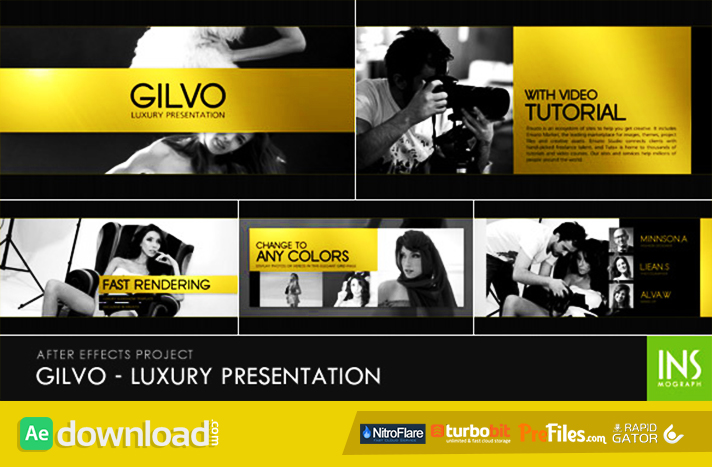 Gilvo - Luxury Presentation Free Download After Effects Templates