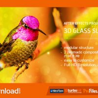 GLASS SLIDES 3D (VIDEOHIVE PROJECT) – FREE DOWNLOAD
