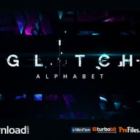 GLITCH ALPHABET (VIDEOHIVE) – FREE DOWNLOAD