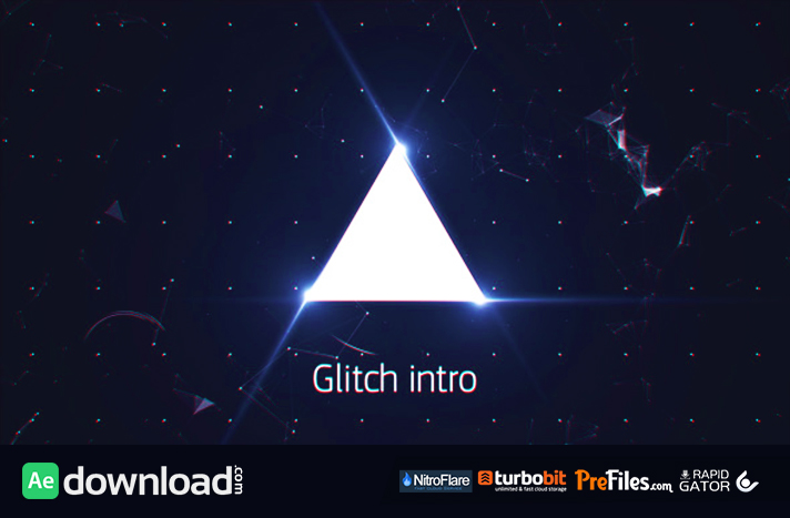 Glitch Intro Free Download After Effects Templates