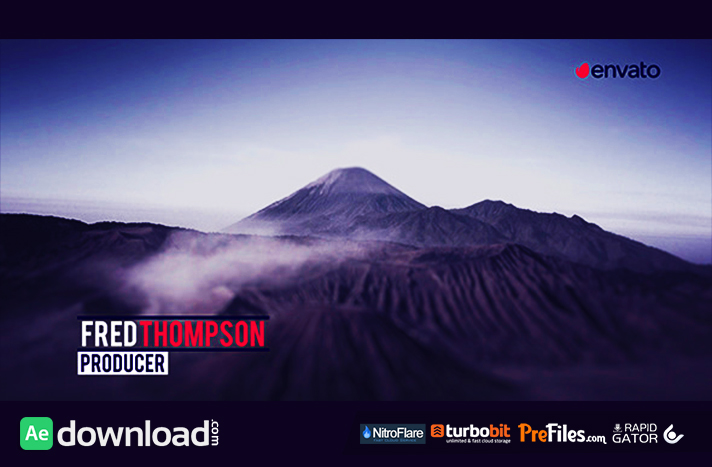Glitch Lower Thirds and Titles Pack Free Download After Effects Templates