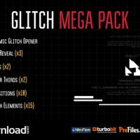 VIDEOHIVE GLITCH MEGA PACK – FREE DOWNLOAD