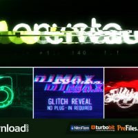 GLITCH REVEAL (VIDEOHIVE PROJECT) – FREE DOWNLOAD
