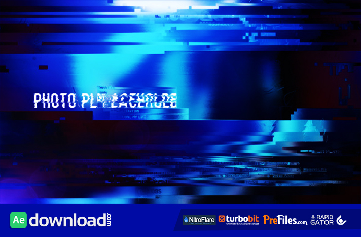 Glitchy Opener Free Download After Effects Templates