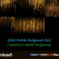 GLITTER PARTICLES BACKGROUNDS PACK (VIDEOHIVE PROJECT) – FREE DOWNLOAD