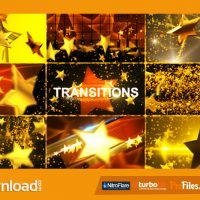 GOLD STAR TRANSITIONS PACK – (VIDEOHIVE TEMPLATE) – FREE DOWNLOAD