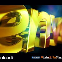 GOLDEN LOGO 3617511 – (VIDEOHIVE TEMPLATE) – FREE DOWNLOAD