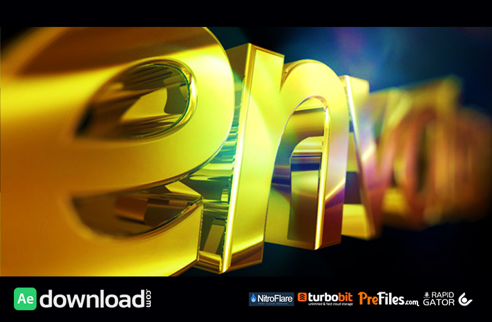 Golden Logo Free Download After Effects Templates