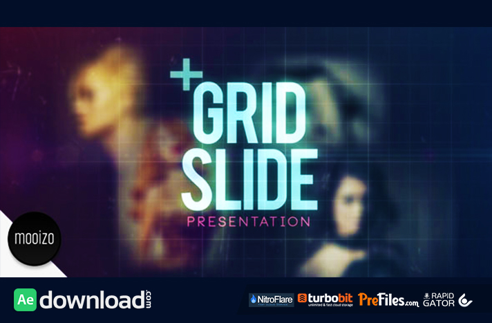 grid slide (videohive project) - free download - free after, Presentation templates
