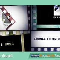 GRUNGE FILMSTRIP – (VIDEOHIVE TEMPLATE) – FREE DOWNLOAD