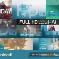 VIDEOHIVE HDTV COMPLETE BROADCAST PACKAGE – FREE DOWNLOAD