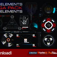 HUD ELEMENTS MEGA PACK (VIDEOHIVE PROJECT) – FREE DOWNLOAD