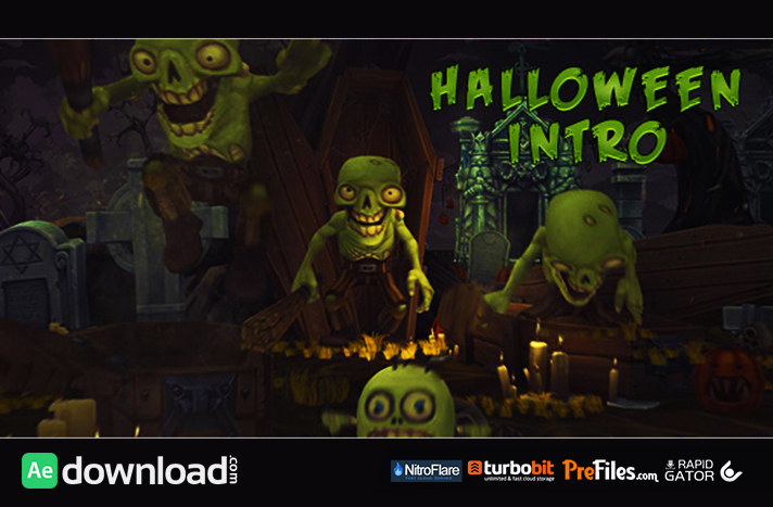 Halloween Intro Free Download After Effects Templates