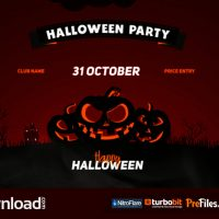 HALLOWEEN PARTY OPENER (VIDEOHIVE PROJECT) – FREE DOWNLOAD