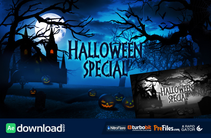 Halloween Special Promo Free Download After Effects Templates