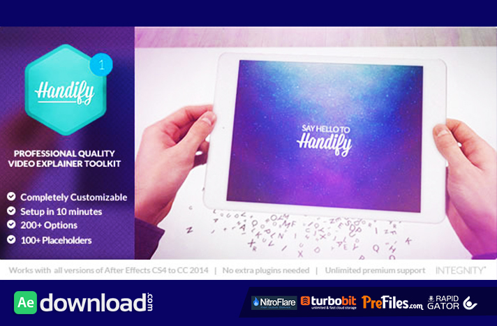 Handify Free Download After Effects Templates