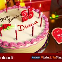 HAPPY BIRTHDAY (VIDEOHIVE TEMPLATE) FREE DOWNLOAD