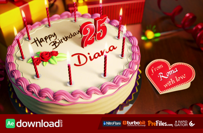 Happy Birthday Videohive Template Free Download Free After