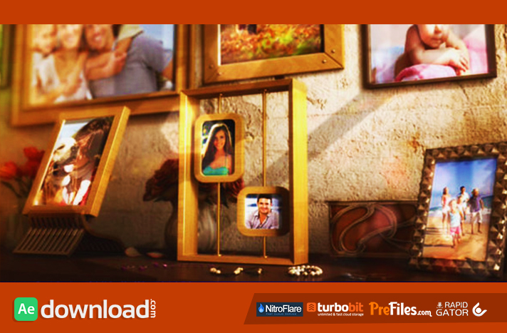 Hy Family Photo Al Free After Effects Templates