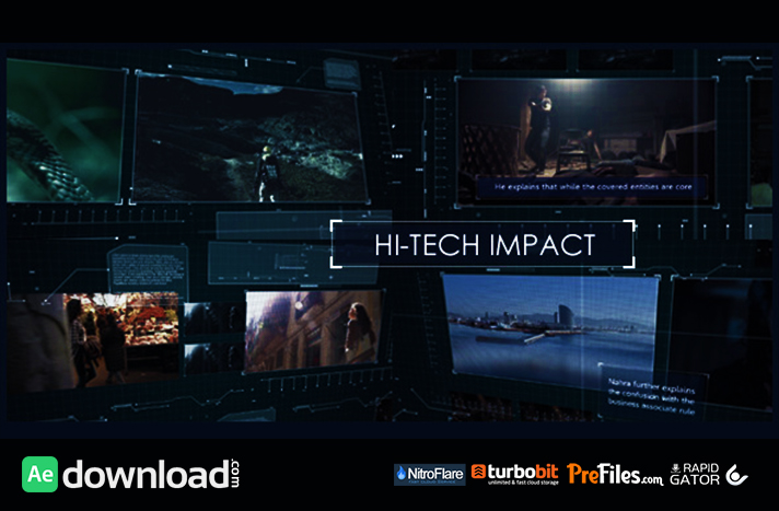 Hi-Tech Impact Free Download After Effects Templates