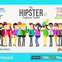 HIPSTER EXPLAINER TOOLKIT- (VIDEOHIVE TEMPLATE) – FREE DOWNLOAD