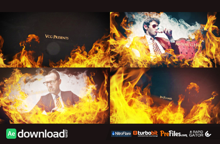 In Flames - An Epic Dynamic Opener Free Download After Effects Templates