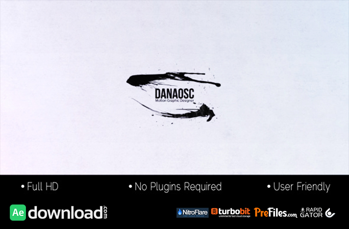 Ink Motion Free Download After Effects Templates