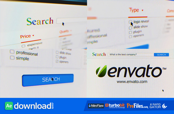 Internet Search Promote Your Company Free Download After Effects Templates