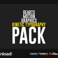 KINETIC TYPO PACK (VIDEOHIVE PROJECT) – FREE DOWNLOAD