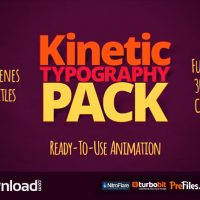 KINETIC TYPOGRAPHY PACK 10997449 – (VIDEOHIVE TEMPLATE) – FREE DOWNLOAD