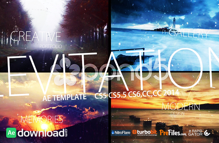 LEVITATION - AFTER EFFECTS TEMPLATES (POND5) Free Download After Effects Templates