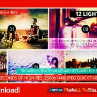 LIGHT LEAKS PACK II (VIDEOHIVE) – FREE DOWNLOAD