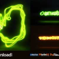LIGHT PAINTING LOGO (VIDEOHIVE PROJECT) – FREE DOWNLOAD