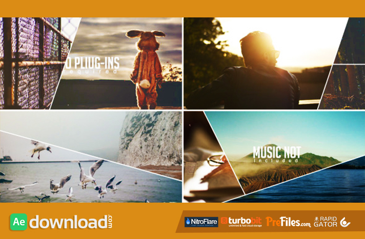 Line Slideshow Free Download After Effects Templates